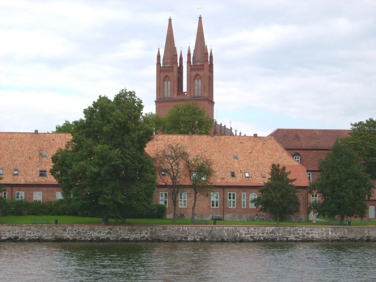 Teilansicht Kloster Dobbertin - Wasserseite